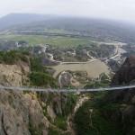Glass Suspension Bridge Is Open To The Public In Hunan