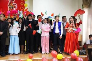 Концерт к Китайск.НГ во 2-м Акад.лицее ТИТЛП.Ташкент.10 февр.2017