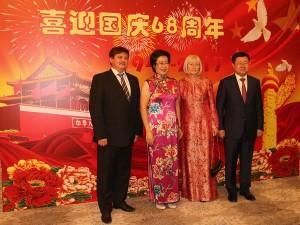 68-летие КНР отпраздновали в Ташкенте.21сент.2017