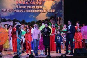 Концерт к 26-летию дипотношений РУз и КНР.Ташкент.26.01.2018